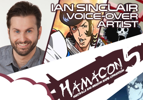 Voice Over Artist Guest for HAMA5: Ian Sinclair!