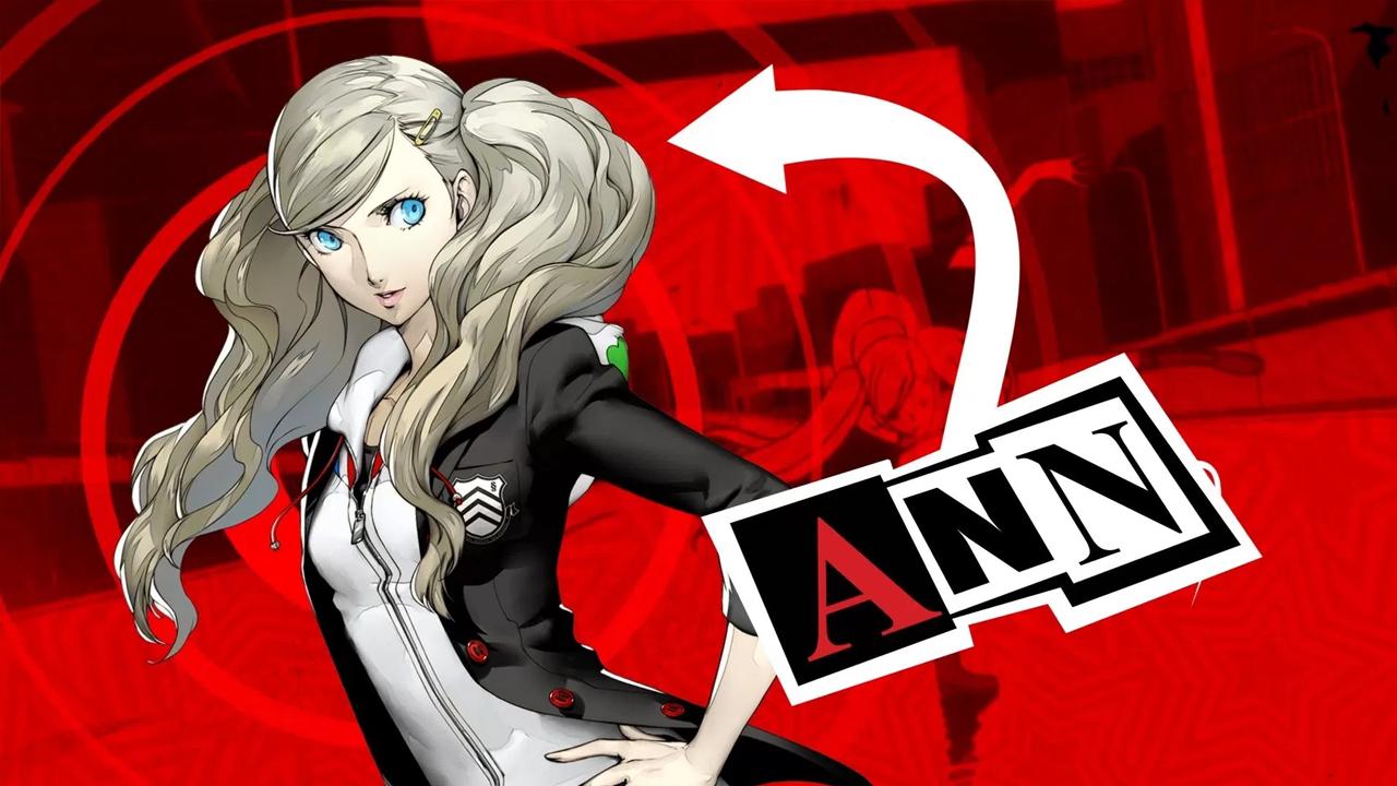 Ann Takamaki in Persona 5